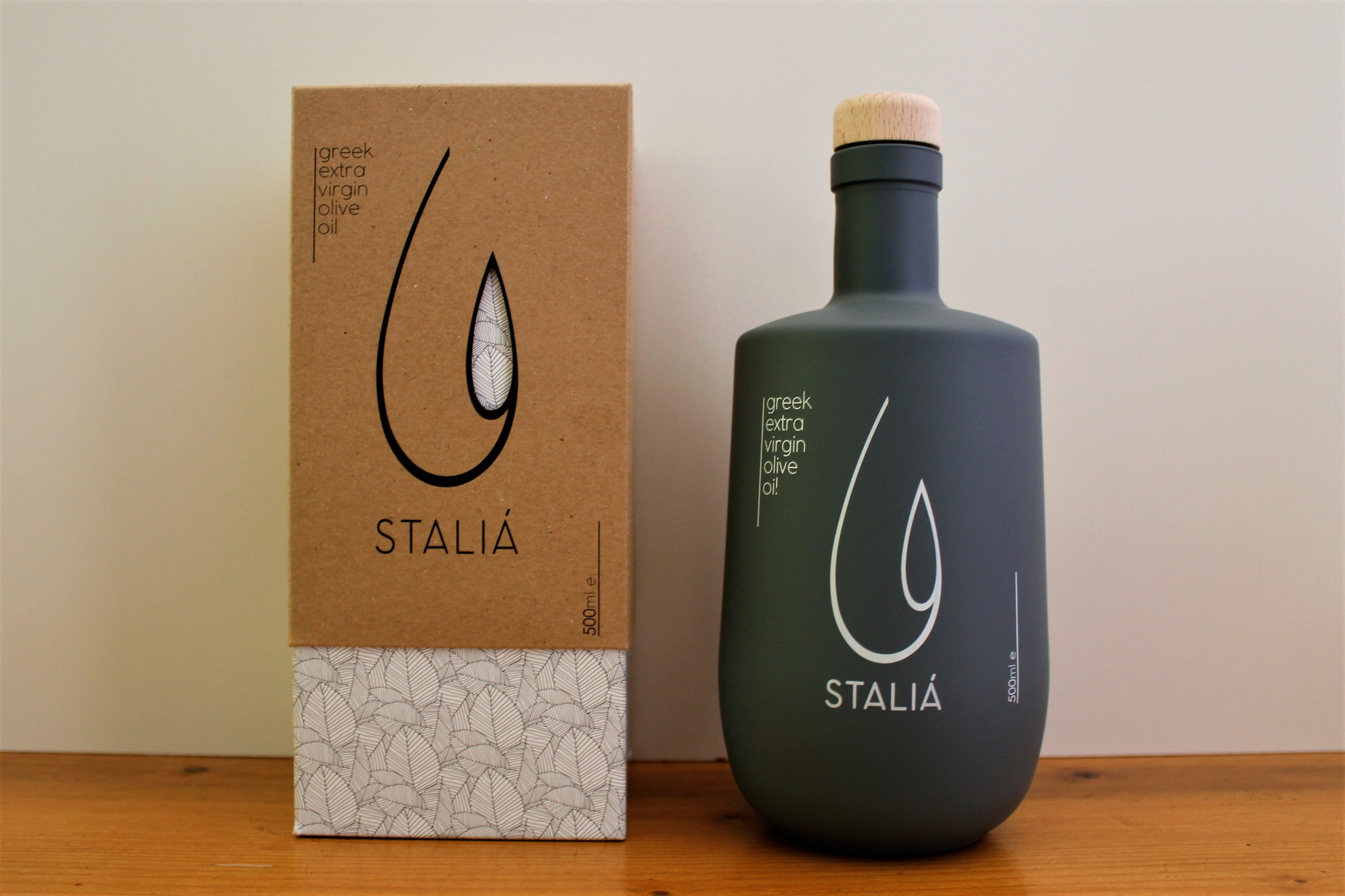 STALIA Bottle Extra Virgin Olive oil 500 ml with Box