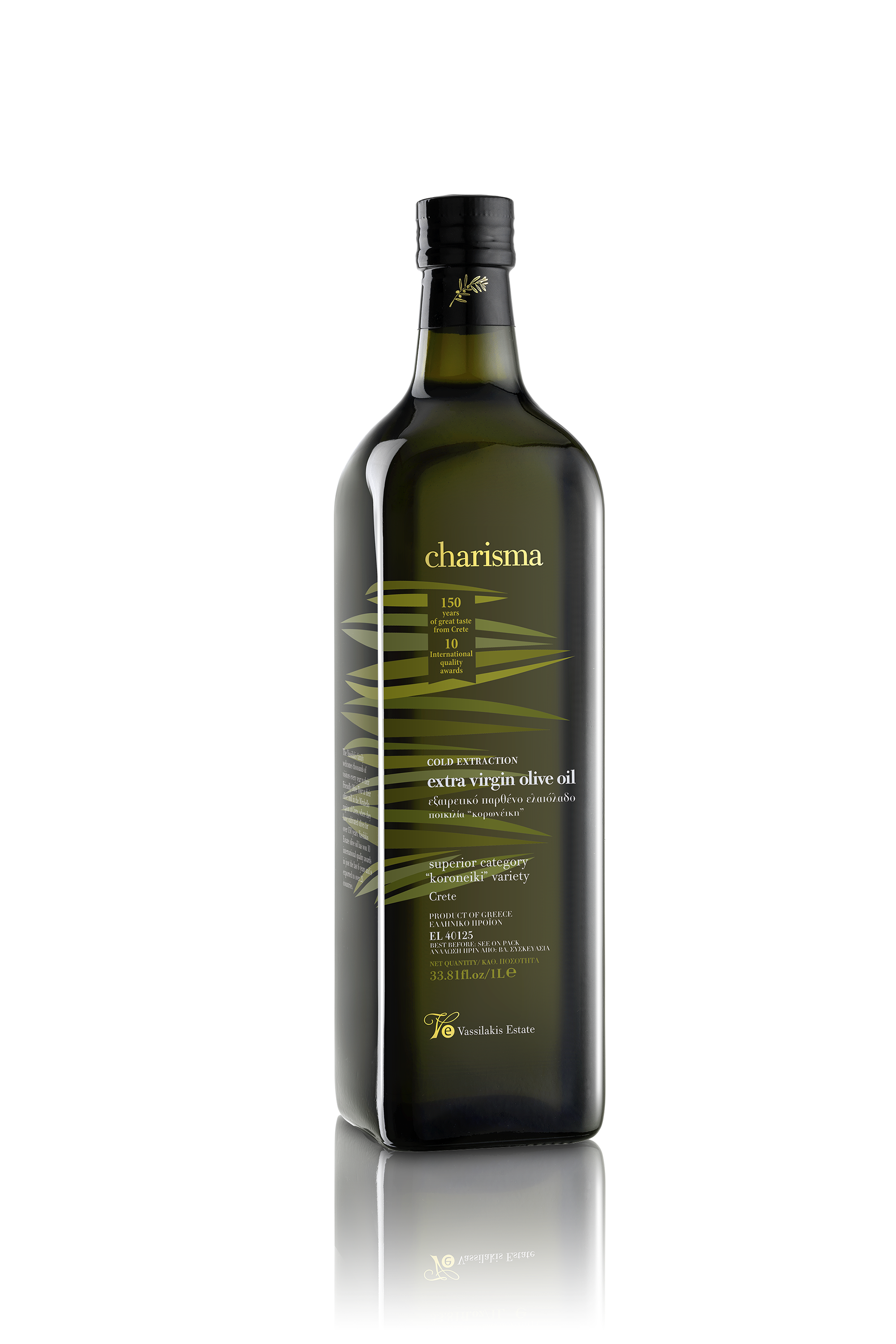 Charisma Extra Virgin Olive Oil